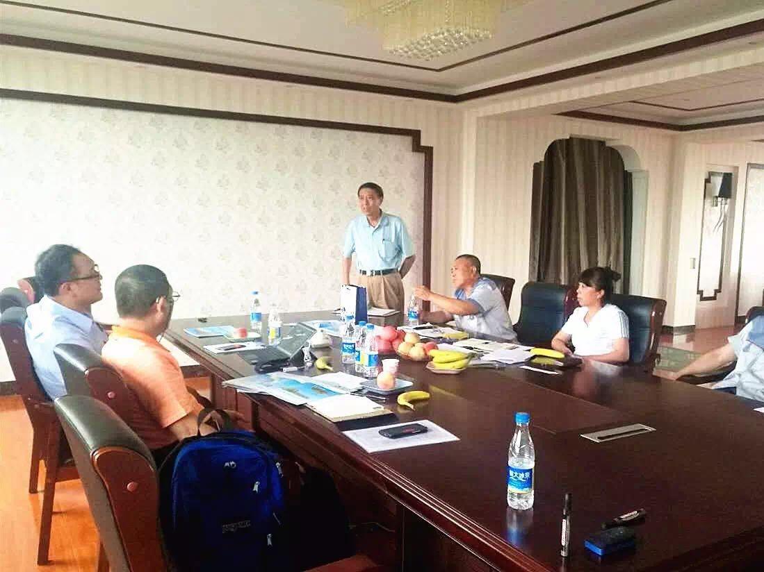 越南客户来万博在线客户端下载北方进行业务洽谈并签订合作